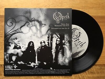 "Opeth 7"" single - Still Day Beneath the Sun & Patterns in the Ivy 2"