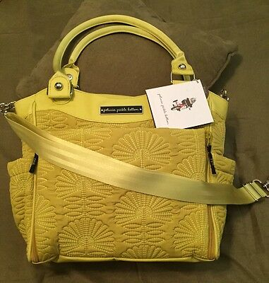 """BRAND NEW Petunia Pickle Bottom Diaper Bag  """"City Carryall'  Union Square Stop"""