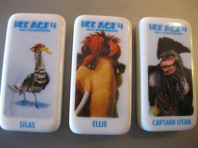 3 Dominosteine Real Domino Ice Ace 4, Silas, Ellie, Captain Utan