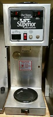 Bloomfield  Coffee Brewer Maker USA Stainless Steel Commercial with 2 Warmers