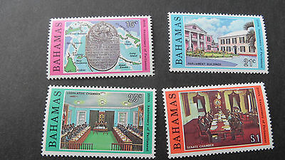 Bahamas 1979 Sg 545-548 25Th Anniv Of Parliament Mnh