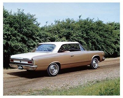 1966 AMC Rambler American Rogue ORIGINAL Factory Transparency ouc2656