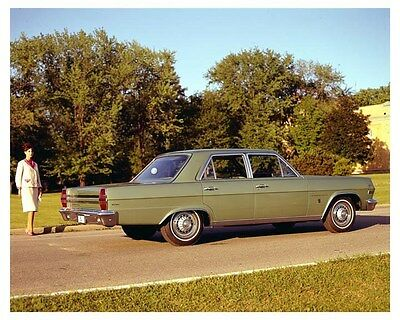 1966 AMC Rambler Ambassador 990 ORIGINAL Factory Transparency ouc2689