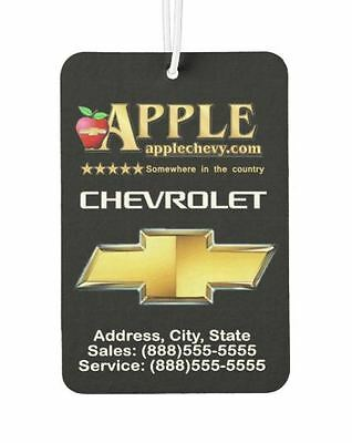 1000 Custom Car Air Fresheners....Promotional air fresheners makes great SCENTS!