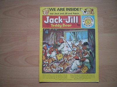 Jack And Jill And Teddy Bear Comic - 18Th January 1975 - The Wombles,