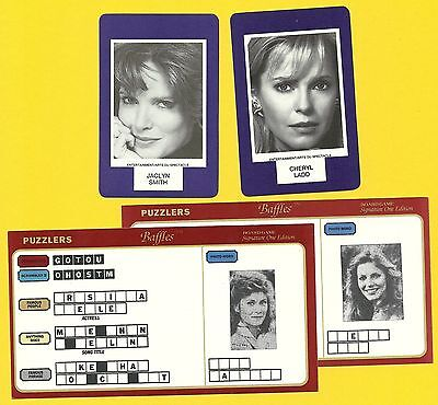Charlie's Angels Jaclyn Smith Cheryl Ladd Fab Card Collection TV Series Actress