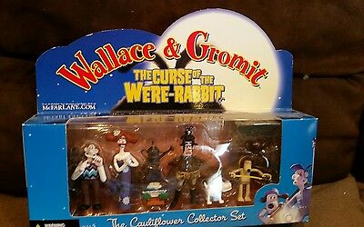 Wallace & Gromit,  the cauliflower collection sealed.