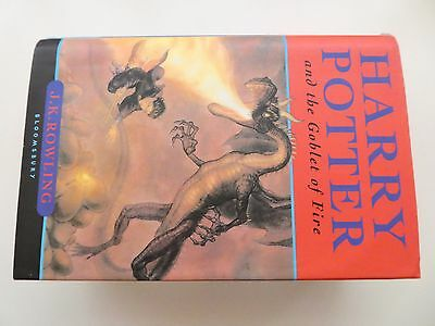Harry Potter and the Goblet of Fire Hardback 1st FIRST Edition with Error's