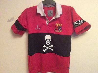 UCC 13/14 year old rugby union shirt trikot maglia maillot camiseta