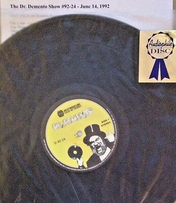 Radio Show: DR DEMENTO SHOW 6/14/92 ONE HOUR ONLY (SIDES 1 AND 3)