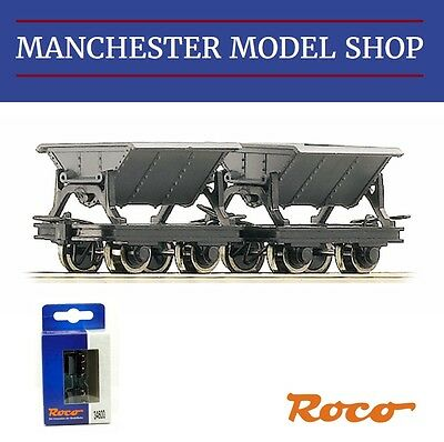 Roco 34600 HOe 1:87 mine side tipping wagons 2 piece set 009 9mm gauge NEW BOXED
