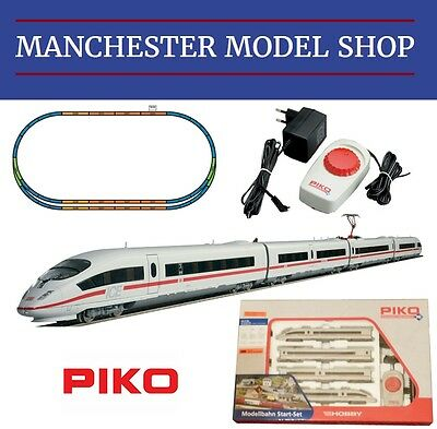 Piko 57194 HO 1:87 ICE3 4 piece train Analogue Starter set NEW BOXED UK PLUG