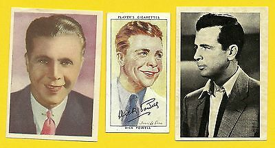 Dick Powell Fab Card Collection Four Star TV Blessed Event Hollywood Hotel
