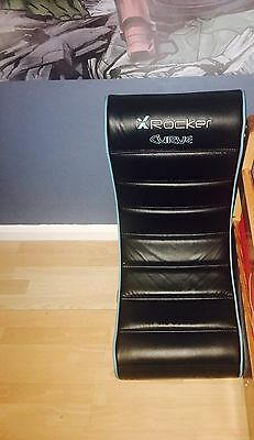 X Rocker Gaming Chair With Leads