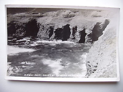 Caves at George's Head, Kilkee - 1946 real photograph