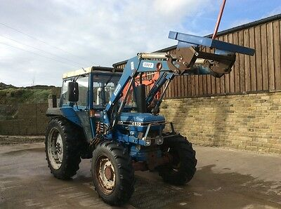 Ford 4610 loader tractor