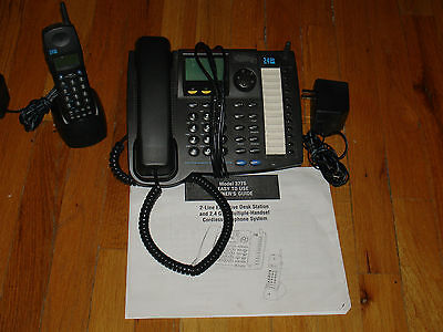Uniden 2 line phone with caller ID plus cordless handset. FREE S/H..LQQK