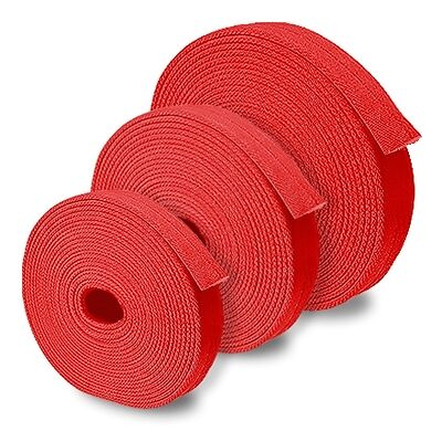 """Red 2.5"""" x 50' Double Jacket Uncoupled Fire Hose"""