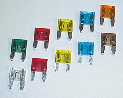 Plug fuse / flat fuse / circuit example. Motorcycle, 5 A, 10-pack
