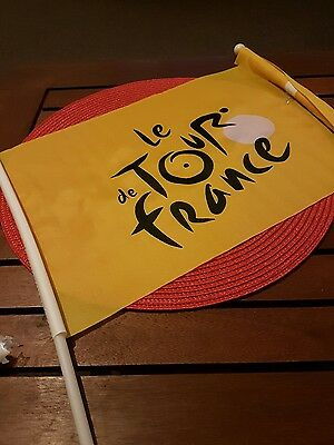 2 x Tour de France flags