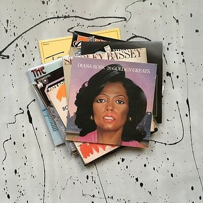 A Collection of 10x Soul Vinyl Records