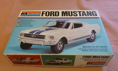 Monogram Ford Mustang kit 1/32  Not Scalextric, MRRC, Cox, Revell