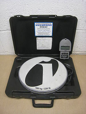 Inficon Wey-Tek 713-500-G1 220 lb HVAC Refrigerant Charging and Recovery Scale