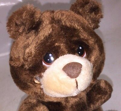LIttle Ouch-Eze - Plush Teddy Bear with Teardrop on Cheek - by RUSS - Large Eyes