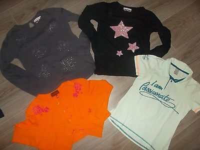 Lot  T-Shirts Fille 10 Ans