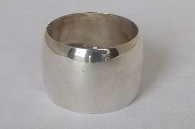 An Antique Solid Sterling Silver Edwardian Napkin Ring London 1901.