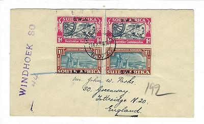 1938 South West Africa First Day Cover - Sc. # 133-4 Voortrekker Issue -(U52)