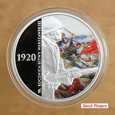 Poland – 2010 – 20 Zlotych – 90th Anniversary of the Battle of Warsaw - #722