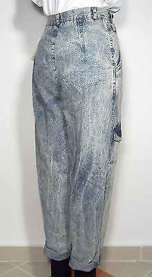 90s DUSTIN High Waist Marmor Washed Jeans Wide Leg Cropped Blogger Cheap Monday