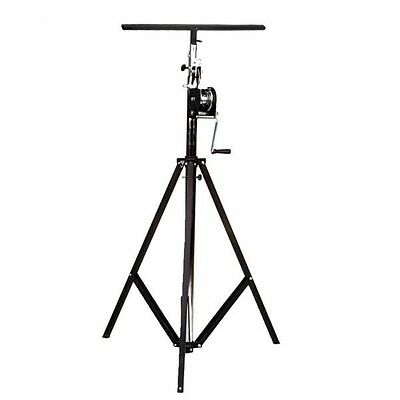 Global Truss ST-132 Crank Up Light Stand with T-Bar. Discounted! Closeout!