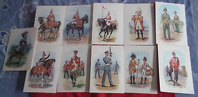 "Selection Of 10  ""stadden"" Uniform Cards"