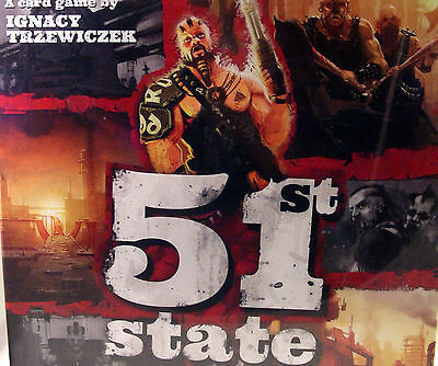 51st State Master Set Portal Games Brand New in Shrink Plays 1 - 4 Board Game