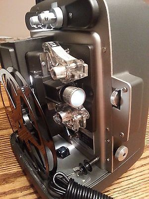 Vintage Bell & Howell Autoload 346A Super 8MM Movie Projector Working Mint!