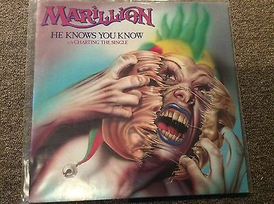 Marillion 12 Single He Know You Know & Charting The Single