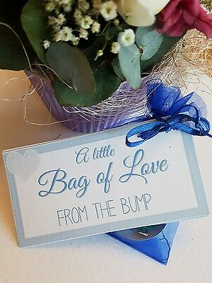 FROM THE BUMP LITTLE BAG OF LOVE mother's day baby shower new mummy daddy 2 be