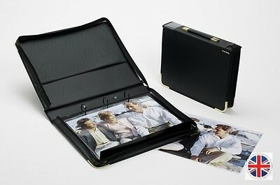Teloman Tech-Style Grande Portfolio with Rings - Extra Wide Capacity - A4