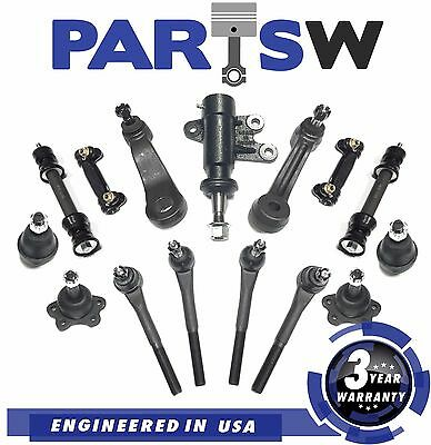 15 Pc Suspension Kit for C1500 & C2500 Suburban C3500 Tahoe Yukon Tie Rod Ends