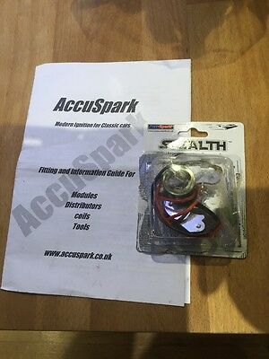 AccuSpark Stealth Electronic Ignition Points Conversion Kit For LUCAS 25D