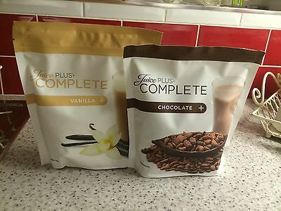 Juice plus shakes Chocolate & Vanilla