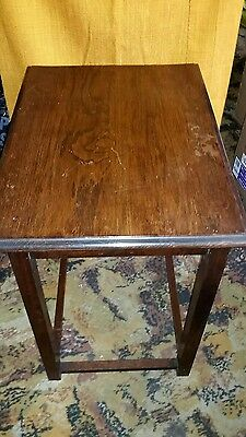 Vintage Small Oblong Table