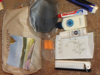 Air  China L'Occitane  Business Class  Amenity Kit New Mint Packed