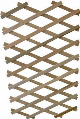 Expanding Wooden Trellis Robust Plant Support Garden Fence Screen 1.8m x 0.3m