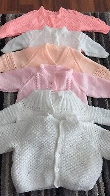 baby hand knitted cardigans