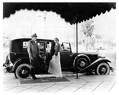 1932 Packard Deluxe Eight Cabriolet ORIGINAL Factory Photo Madge Evans ouc2868
