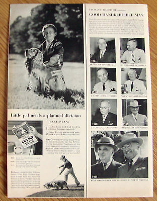 1951 Gro-pup Dog Food Little Pals Cocker Spaniel Dog