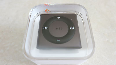 Apple iPod shuffle 2GB earphones and USB cable gift brand new black color 2 GB